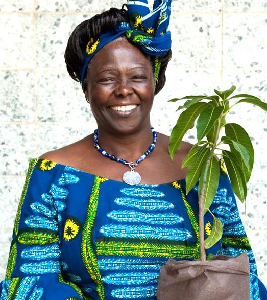 Spectacle sur Wangari Maathai, la femme qui plantait des arbres d'Esther Marty-Kouyaté